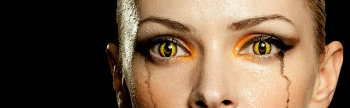 adb772e3c695 Farvede kontaktlinser til Halloween (Tyske kvalitets kontaktlinser)