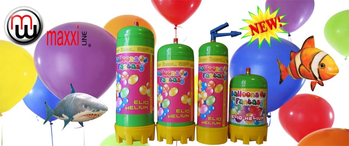helium flaske billig