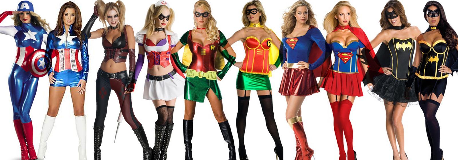 helte kostume kvinder