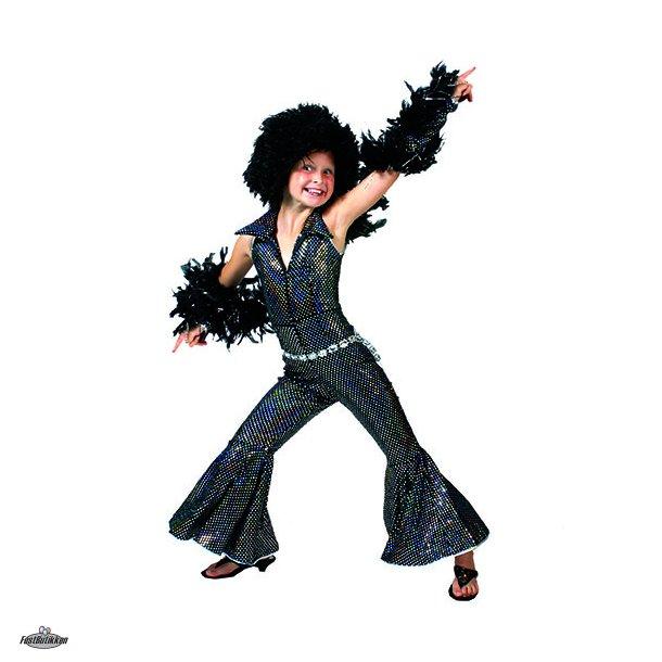 Disco jumpsuit med handsker