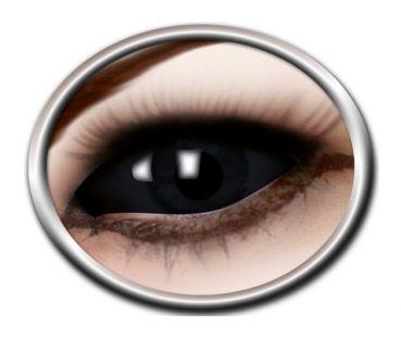 dbbaf6c4b4b2 Kontaktlinser Black eye Sclera