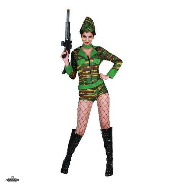 Militær dragt til kvinder