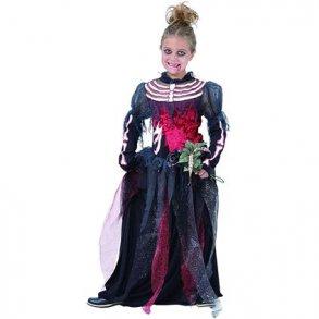 97f98f4f Zombie bride, kjole med slør   Køb zombie brudekjole