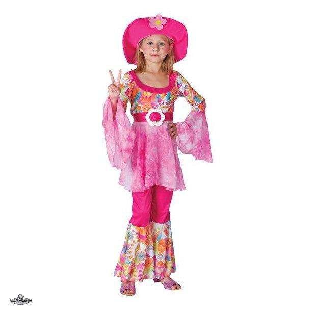 Hippie diva kostume til piger