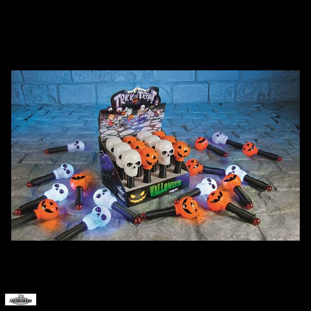 Lygte med Halloweenmotiver