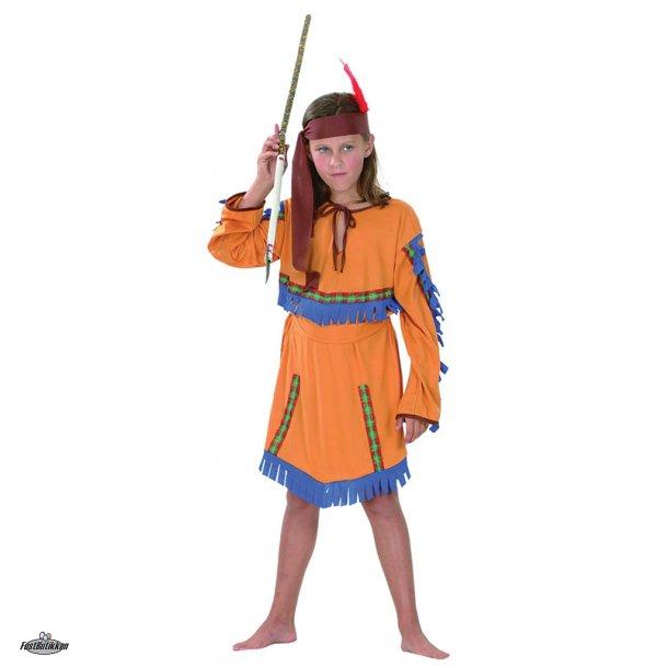 Indianer kostume til piger