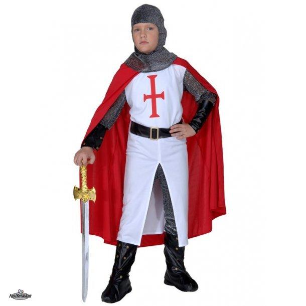 Ridder Crusader kostume til børn
