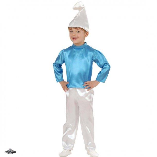 Smølf kostume til mindre børn
