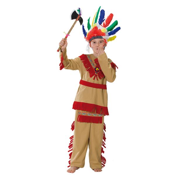 indianer kostume dreng udkl dning til b rn og voksne k b. Black Bedroom Furniture Sets. Home Design Ideas