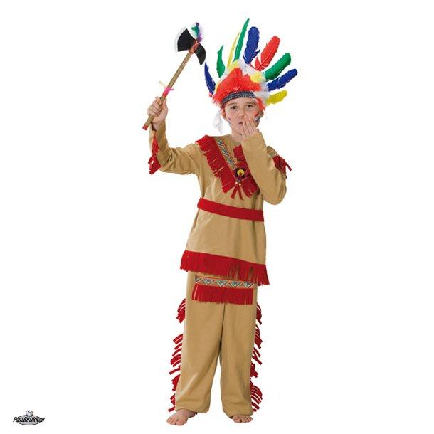 Indianer kostume dreng