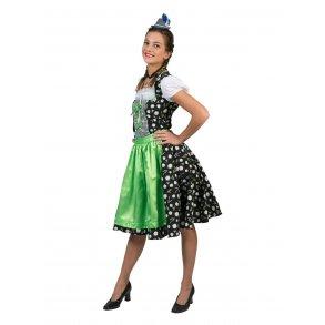 cb24ea949d16 Tyroler kjole Edelweiss lang